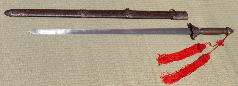 Tai Chi Sword Stainless Steel 39
