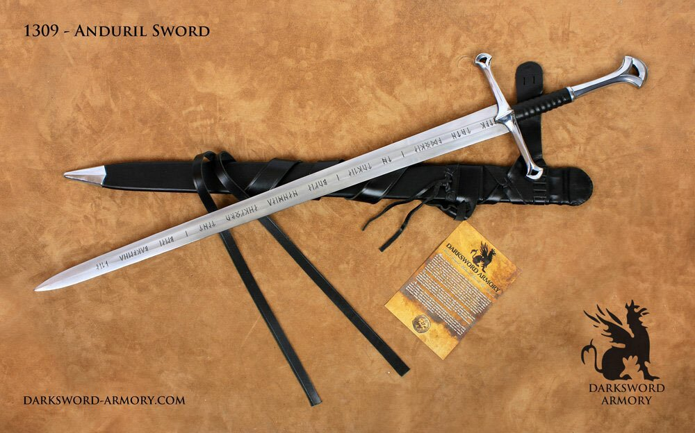 The Anduril - LOTR forged sword