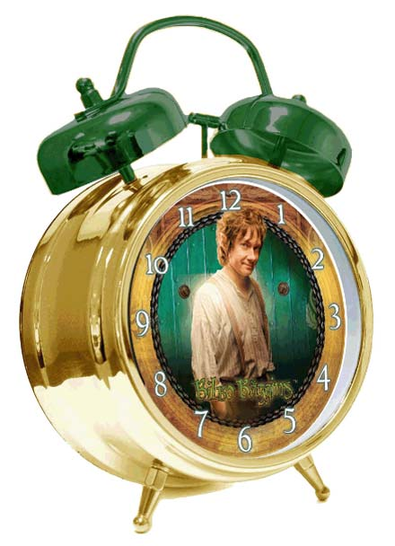The Hobbit Alarm Clock with Sound Bilbo