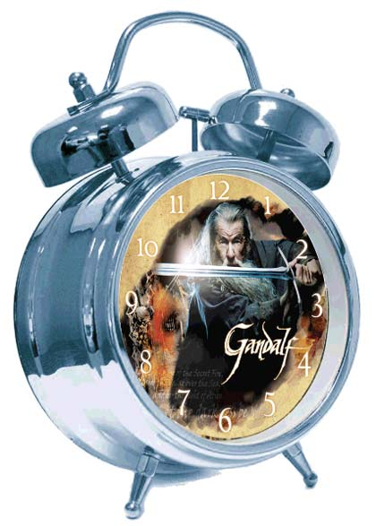The Hobbit Alarm Clock with Sound Gandalf