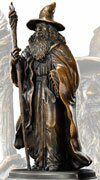 The Hobbit Bronze Statue Gandalf Noble Collection