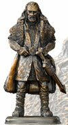 The Hobbit Bronze Statue Thorin Oakenshield Noble Collection