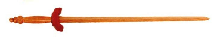 Wooden Tai Chi Sword 38''