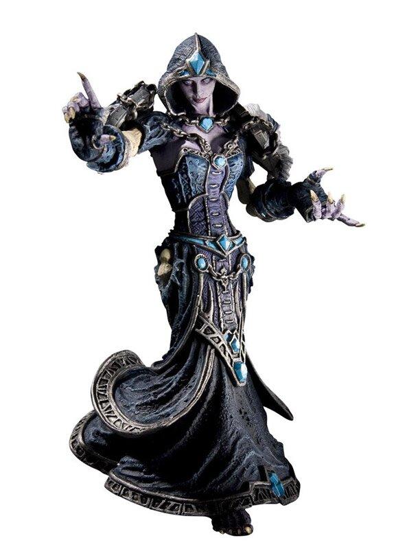 World of Warcraft Series 8 Action Figure Forsaken Priestess  Confessor Dhalia