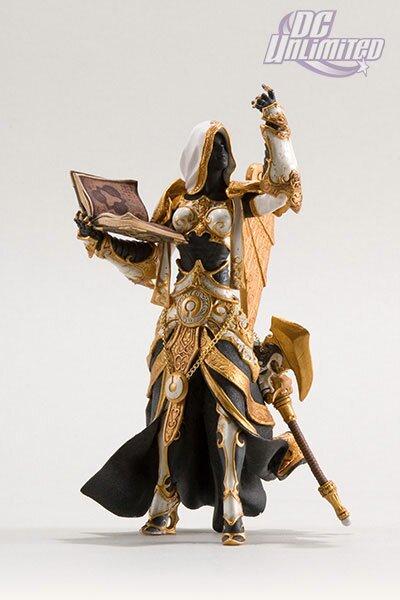 World Of Warcraft, Series 3: Human Priestess: Sister Benedron Action Figure