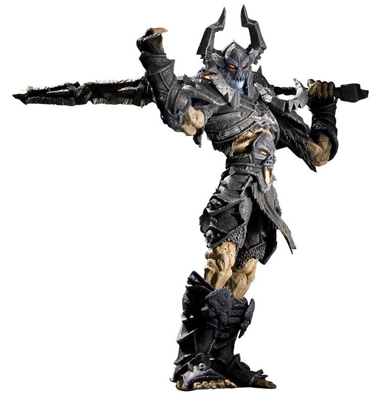World of Warcraft Series 8 Action Figure Argent Nemesis The Black Knight