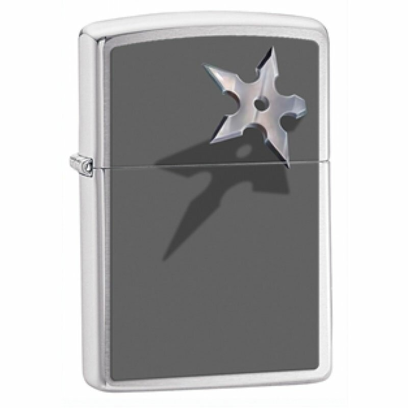 ZIPPO Lighter Throwing Star
