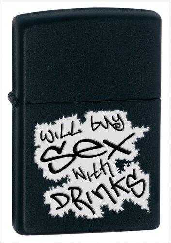 ZIPPO Lighter Will Buy Sex With Drinks